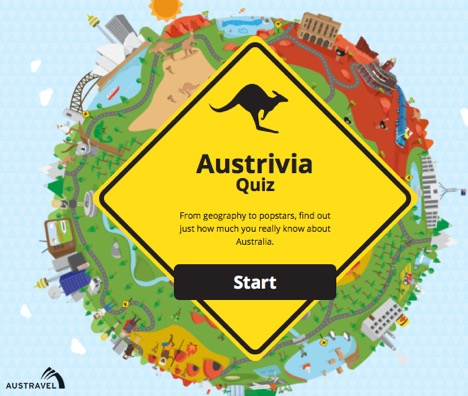 Austravel Austrivia Quiz