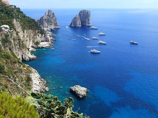 Capri & the Blue Grotto: the magnificent part of the Mediterranean sea