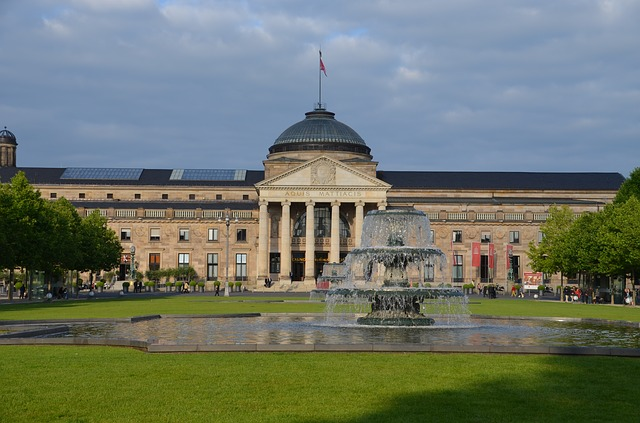 The Wiesbaden spa and casino