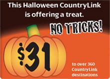 Countrylink Halloween