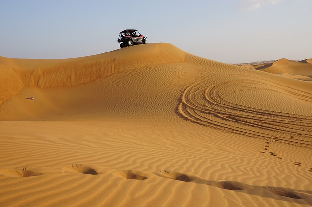 Exploring The Desert Outside Dubai- Day And Night