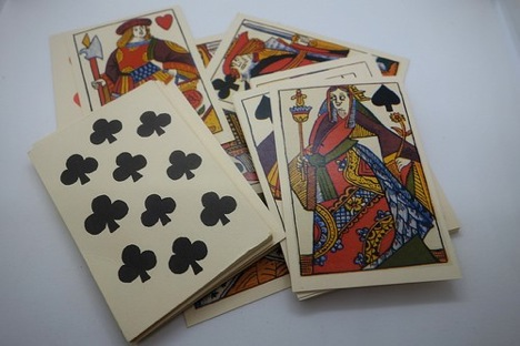 It is still hard to beat a game of cards
