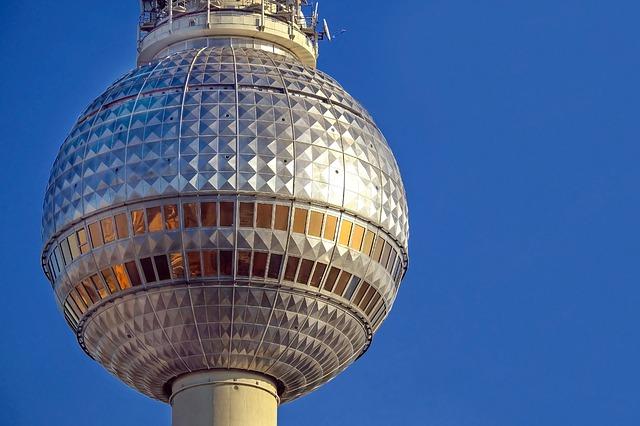 The Fernsehturm (TV Tower)