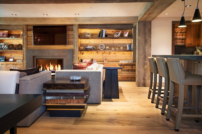 Why do hotels use engineered wood for flooring?
