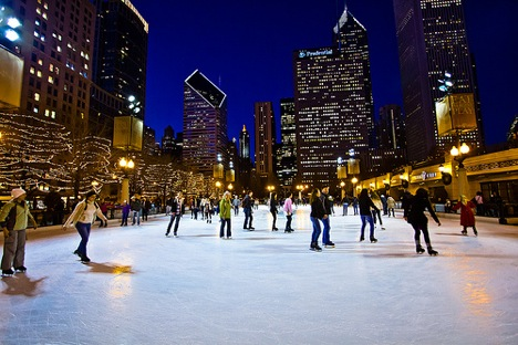 Ice skating - Chicago