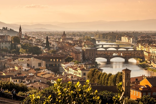 Florence, the capital of art and culture