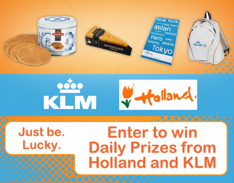 Win a World Business Class trip for 2 via KLM and a 3-night hotel stay in Amsterdam