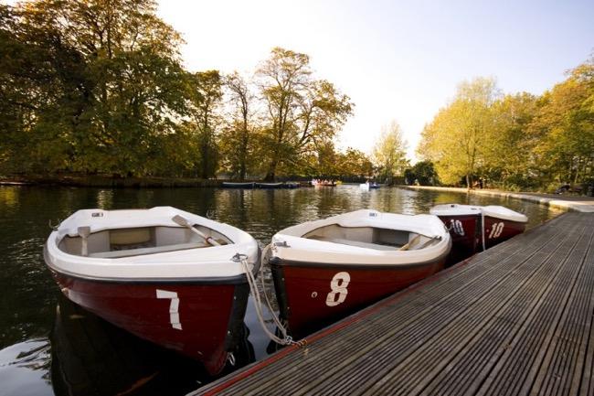 Park boats