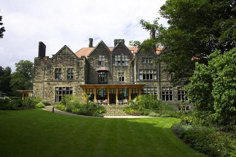 Jesmond Dene house in Newcastle