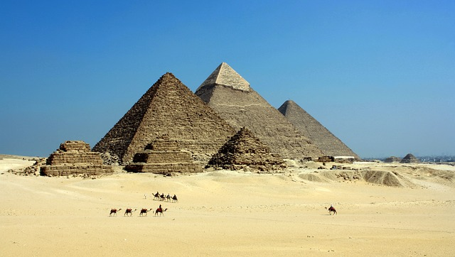 The magnificent pyramids of Egypt