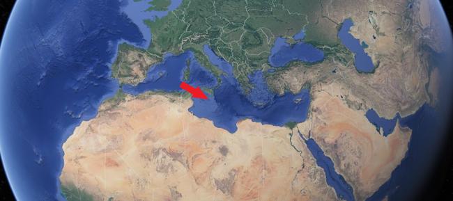 Malta in Mediterranean