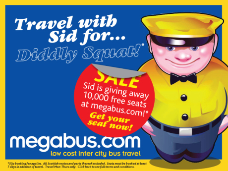 Megabus Winter Sale