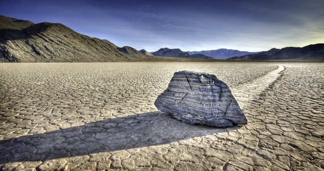 Racetrack Playa-Death Valley National Park