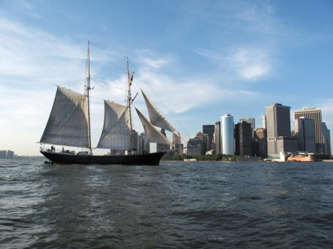 Sailing Around New York City