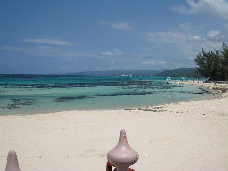 White sand beaches, Jamaica