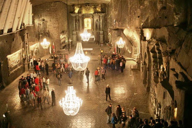 Wieliczka Salt Mine Excursion