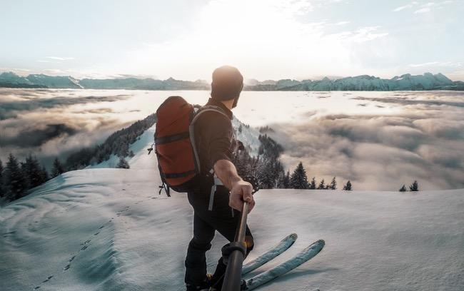 Ski Selfie