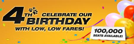 Tiger Airways Singapore - 4th Birthday