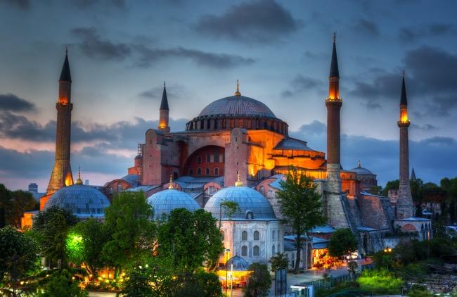 The Hagia Sophia, Turkey