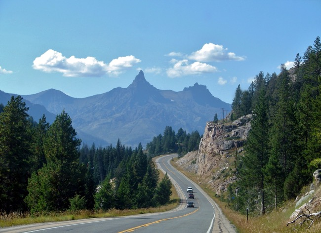 Buffalo Bill Cody Scenic Byway in Wyoming