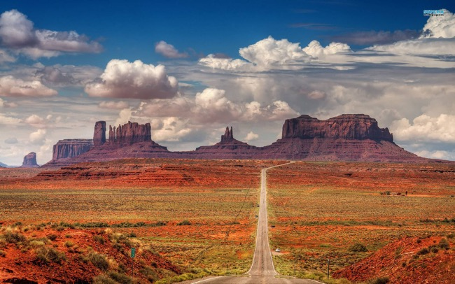 The Red Rock Scenic Byway in Arizona