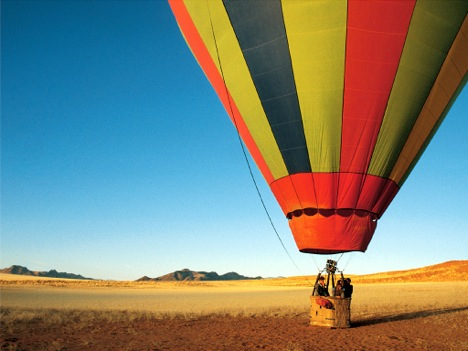 Sossusvlei balloon safari