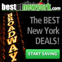 For the best prices on NYC travel visit Best of New York!