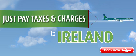 Aer Lingus - Just pay taxes and charges to Ireland
