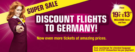 Germanwings - Discount flights to Germany