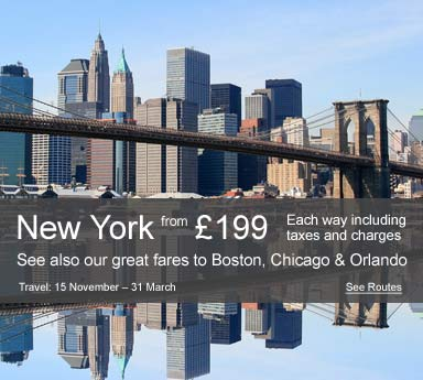 Aer Lingus - Fly from the UK to the USA from only £199