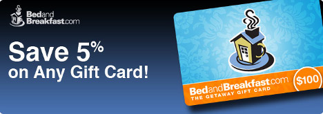 Save 5% on ANY B&B Gift Card All Summer Long!