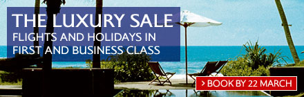 British Airways Luxury Sale