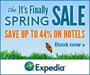 It's Finally Spring Sale! Save up to 44% off hotels!