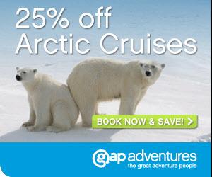 Gap Adventures - 25% Of Selected Arctic Tours