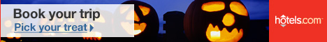 Halloween Hotel Sale: Save up to 30%!