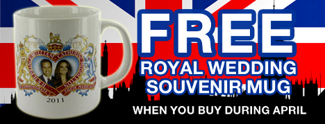 Free Royal Mug at London Pass