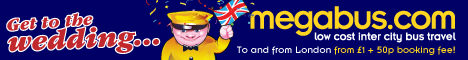 Go to the Royal Wedding with megabus