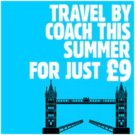 Go anywhere in the UK for just £9 with National Express
