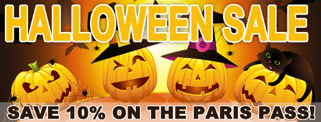 Halloween Sale At Paris Pass