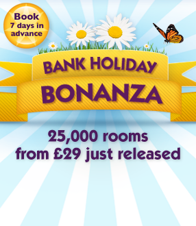 Premier Inn: Bank Holiday Bonanza - rooms from £29