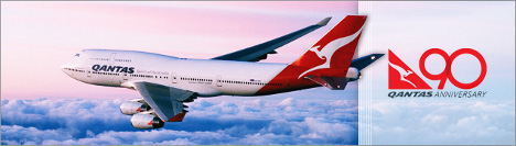 Save up to 35% on Roundtrip flights to Australia on Qantas!