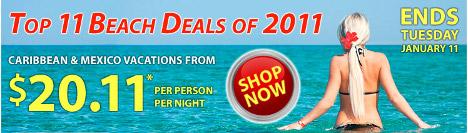 Top 11 Beach Deals of 2011