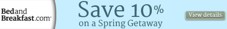 Save on a Spring Break B&B Getaway