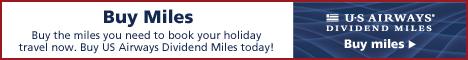 Buy US Airways Dividend Miles