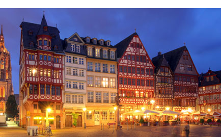 Travel from London to Frankfurt from £54 return