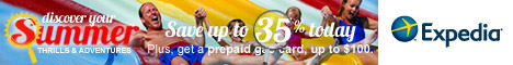 Expedia Summer Sale - Get a prepaid gas card, worth up to $100!