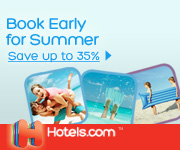 Book Early for Summer: Save up to 35%!