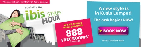 ibis Styles Kuala Lumpur - 888 Free Rooms Opening Special