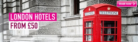 4* hotels in London from £50.00