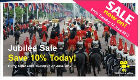 Jubilee sale: Save 10% in the London Pass sale